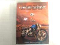 2000 Custom Chrome Catalog Hardcover Book          bk70