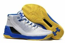 New Under Armour Curry 3 Dub Nation Home Shoes Sneaker 1269279-102 Men's Size 10