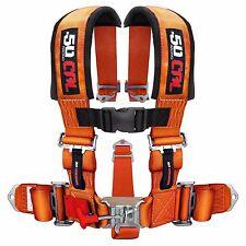 5 Point Safety Harness 3 Inch Seat Belt Sand Rail Dune Buggy Rock Crawler Orange
