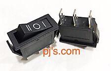 AC15A / 250v 30A / 125v 3 Pin SPDT ON-OFF-ON 3 Position Snap Rocker Switch x 1pc
