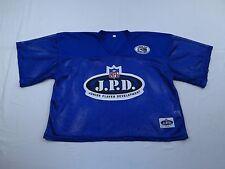 NFL Junior Player Development JPD Football Jersey Sz XL Blue Sewn Mesh Practice