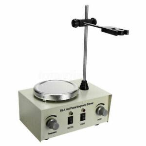 Labor Magnetrührer Mixer Stirrer mit Heizung Hotplate Heizplatte 220V 1000ml