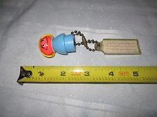 RARE VINTAGE Fisher-Price Sesame Street Key Chain Prairie Dawn 79-80 Media Plant