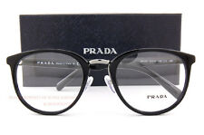 Brand New Prada Eyeglass Frames 03TV 1AB 1O1 Black for Men Size 52