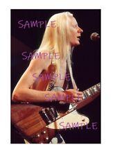 Johnny Winter 1970's Concert Photo 8x12