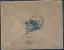 1917  CROCE ROSSA SOVRASTAMPATO 0,20/15 SINGOLO ISOLATO CON TESTO DA PARGHELIA