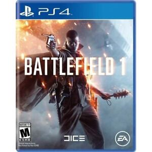 Battlefield 1 For PlayStation 4 PS4 PS5 Shooter