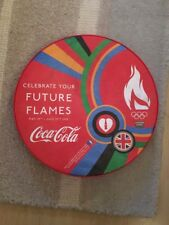 Coca Cola Olympics 2012 London Souvenir Move To The Beat Olympic Torch Drum