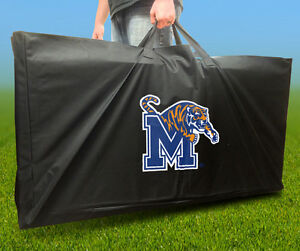 MEMPHIS TIGERS Licensed CORNHOLE Board CARRYING CASE Storage Carry Bag