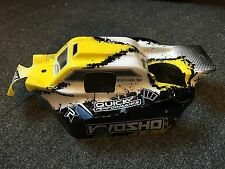 KYOSHO INFERNO NEO 2, NEO YELLOW & BLACK BODY SHELL T4, IFB112T4