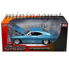 JADA 98911 SHOWROOM FLOOR 1967 67 CHEVROLET IMPALA 1/24 DIECAST MODEL CAR BLUE