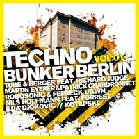TECHNO BUNKER BERLIN VOL,1  2 CD NEU