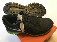 Nike 541002-003 Men's Dual Fusion ST 2 Shield Running Shoes Black Green All Size