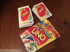 UNO CARDS Sponge bob square pants good condition spongebob