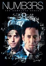 Numb3rs: The Complete Series (DVD,2010)