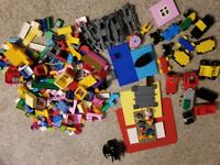 Duplo Lego Lot Over 12 Pounds Mixed Lot