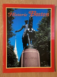 Historic Boston (Pamphlet, Pictorial Souvenir Guide)