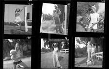 S1 6 1970s Women's Art Fashion Harry Langdon Negative w/rights Lot