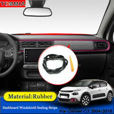 Dust Proof Car Interior Dashboard Windshield Sealing Strips For Citroen C3 2004+