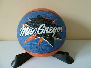 "VINTAGE MACGREGOR MINI BASKETBALL BALL ""HOT SHOOTER"" COLLECTIBLE PROP DISPLAY"
