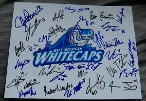 2019 West Michigan Whitecaps Team Signed Photo Parker Meadows Lance Parrish Auto