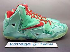 Nike LeBron XI 11 Christmas GS sz 7Y