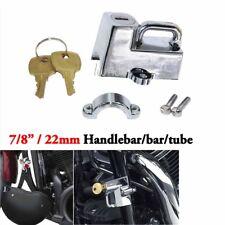7/8'' Motorcycle Chrome Helmet Lock For Honda Gold Wing GL 1100 1200 1500 1800