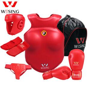 Wesing men women Martial Arts body Protective Gear WuShu boxing body protector