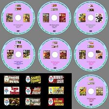War Picture Library Series 1 1958-1984 on a 7 DVD Mega Set. UK Classic Comics.