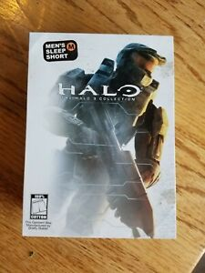 Halo 3 SHORTS / BOXERS TIN, box only, used, Halo 3 video game collection