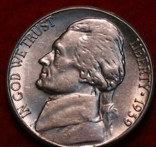 Uncirculated 1939-S San Francisco Mint Jefferson Nickel
