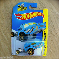 2014 Hot Wheels HW POPPA WHEELIE 87/250 OFF-ROAD Daredevils BLUE AbeLugo diecast