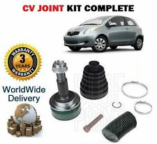 Per TOYOTA YARIS 1.4 D4D DT 2005-2011 NUOVO contant VELOCITY CV Joint Kit