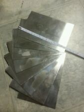 "one Stainless steel 304 8"" x12""+- 24 gage plate metal sheet  316 welding tig mig"