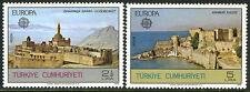 Turkey 2091-2092,MI 2443-2444,MNH. EUROPA CEPT. Ishak Palace, Anamur Castle,1978