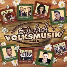 EINFACH VOLKSMUSIK! FOLGE 6  CD NEW+ ALPENTRIO TIROL/MONIKA MARTIN/VOXXCLUB/+