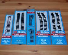 More details for peco 00-9 code 80 009 setrack narrow gauge turnouts points straights curves