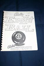 Bally Eight Ball pinball machine manual (#Man084)