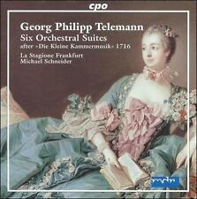 """Telemann: Six Orchestral Suites after """"Die Kleine Kammermusik"""" 1716, New Music"""