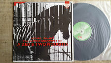 Michael Nyman – Music For Peter Greenaway's Film A Zed & Two Noughts - - LP