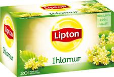 Lipton Turkish Lipton Linden Tea - Herbal/Tisane Ihlamur Bagged - 20 Bags/Pack