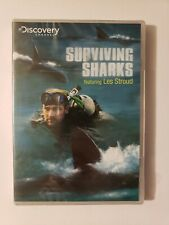 Discovery Channel: Surviving Sharks With Les Stroud (DVD, 2008) NEW