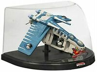 "Star Wars Ultra Titanium Series Die Cast 6"" Republic Gunship Clone Wars 2006 NIB"