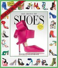 365 Days of Shoes Picture-A-Day Wall Calendar 2018 by Workman Workman Publishing