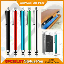 5pcs Pack Touch Screen Stylus Pen Capacitive For Tablet Smartphone Cellphone 9.0