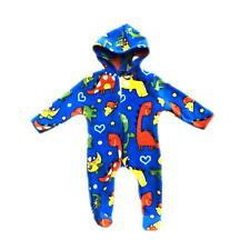 Baby Boys Girls Fleece One Piece Pajamas Outfit All In One Dinosaurs Onesie0-24M