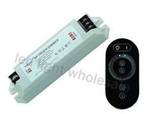Touchable Remote Dimmer 2-Channel for 2pcs 5050 / 3528 LED Strip Light 12V