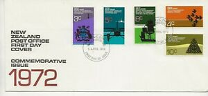 New Zealand Comm/FDC -  Commemorative Issue - 1972 (2363)