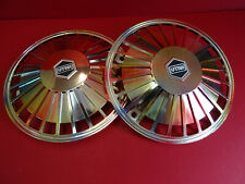 Original 1980s NOS Vespa T5 PX/e 125 150 200 & PK Utah Rainbow Flip Wheel Trims