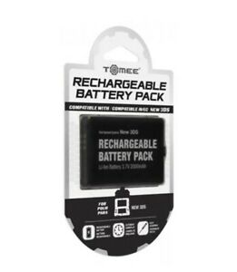 Tomee Rechargeable Battery Pack Compatible AVEC New 3DS Li-lon 3.7V 2000mAh